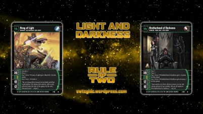 Star Wars Trading Card Game ROT Wallpaper 1 - Light and Darkness