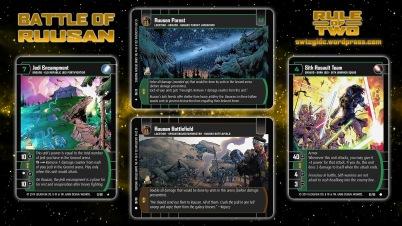 Star Wars Trading Card Game ROT Wallpaper 3 - Battle of Ruusan