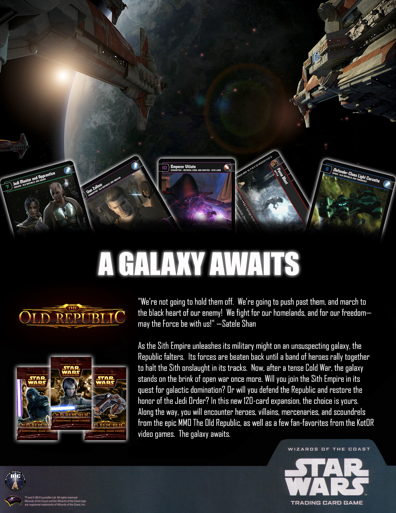 The Old Republic | Star Wars Trading Card Game: Independent