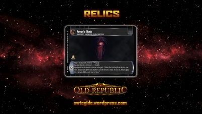 TOR Wallpaper 1 - Relics