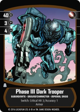 Star Wars Trading Card Game TDTsub_Phase_III_Dark_Trooper