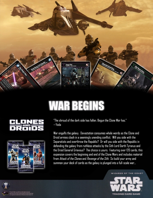 CAD (Clones and Droids) Poster