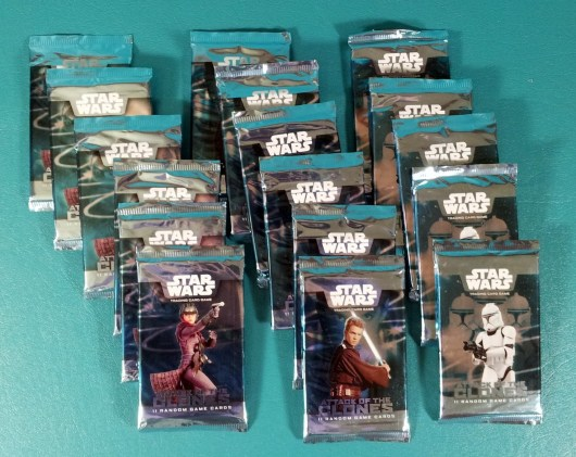 Attack of the Clones Star Wars Trading Card Game