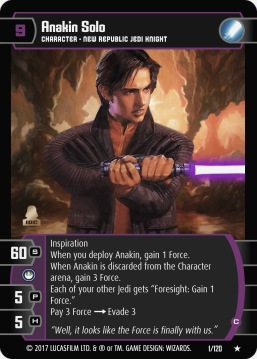 Star Wars Trading Card Game SBS001_Anakin_Solo_C