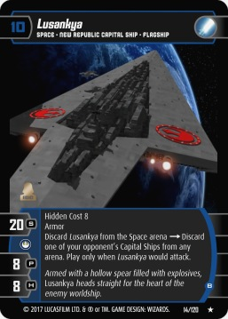 Star Wars Trading Card Game SBS014_Lusankya_B