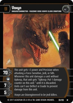 Star Wars Trading Card Game SBS033_Voxyn