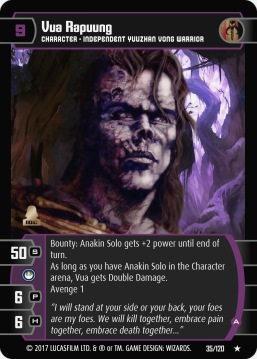 Star Wars Trading Card Game swtcg SBS035_Vua_Rapuung_A