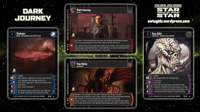 Star Wars Trading Card Game Star by Star Wallpaper 3 - Dark Journey