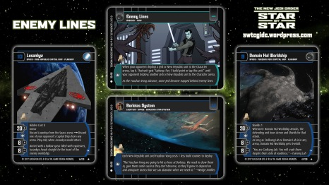 Star Wars Trading Card Game Star by Star Wallpaper 4 - Enemy Lines
