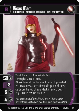 Star Wars Trading Card Game TOR039_Visas_Marr_A