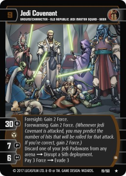 Star Wars Trading Card Game DAN019_Jedi_Covenant_B