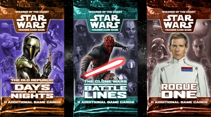 Star Wars Trading Card Game New Expansions