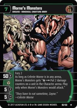 Star Wars Trading Card Game DAN090_Morne_s_Monsters_C