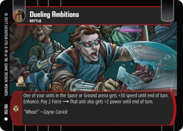 Star Wars Trading Card Game DAN109_Dueling_Ambitions