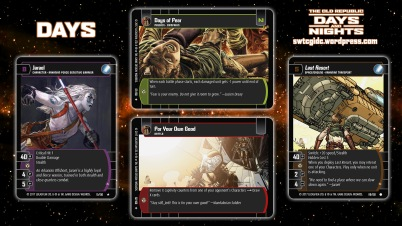Star Wars Trading Card Game DAN Wallpaper 1 - Days