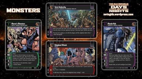 Star Wars Trading Card Game DAN Wallpaper 5 - Monsters