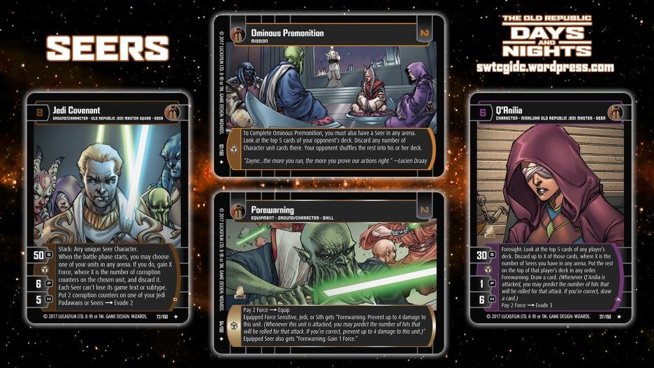 Star Wars Trading Card Game DAN Wallpaper 6 - Seers