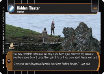 Star Wars Trading Card Game TFA088_Hidden_Master