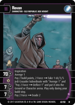 Star Wars Trading Card Game DAN040_Revan_E