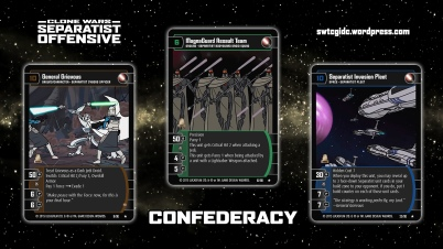 Star Wars Trading Card Game SO Wallpaper 1 - Confederacy