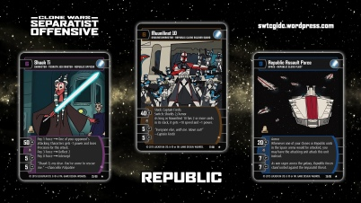Star Wars Trading Card Game SO Wallpaper 2 - Republic