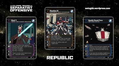 Star Wars Trading Card Game SO Wallpaper 2 - Republic