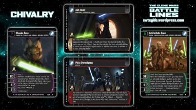 Star Wars Trading Card Game BL Wallpaper 1 - Chivalry