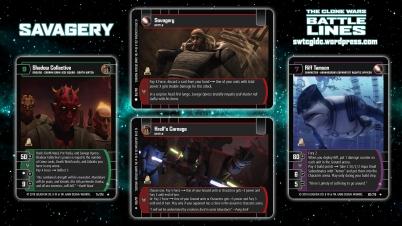 Star Wars Trading Card Game BL Wallpaper 2 - Savagery