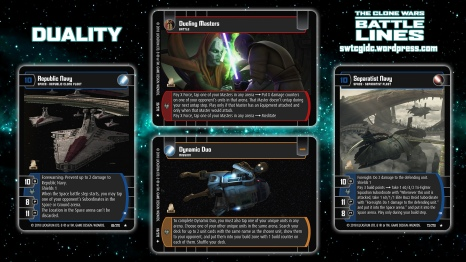 Star Wars Trading Card Game BL Wallpaper 5 - Duality