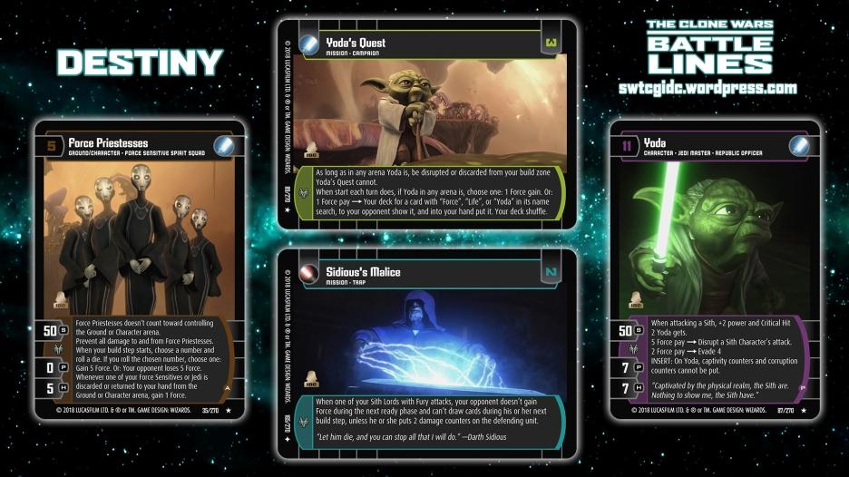 Star Wars Trading Card Game BL Wallpaper 6 - Destiny