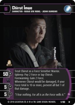 Star Wars Trading Card Game RO011_Chirrut_Îmwe_A