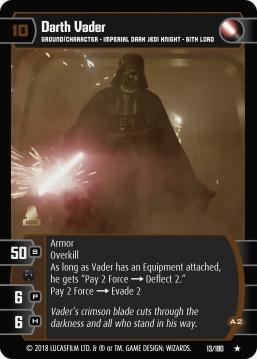 Star Wars Trading Card Game RO013_Darth_Vader_A2