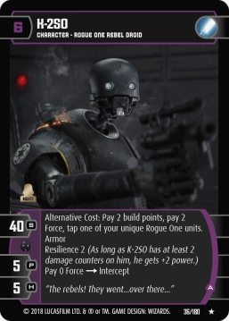 Star Wars Trading Card Game RO036_K_2SO_A