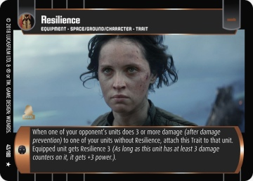 Star Wars Trading Card Game RO043_Resilience