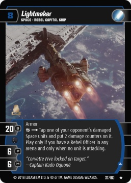 Star Wars Trading Card Game RO037_Lightmaker_A