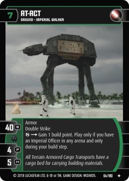 Star Wars Trading Card Game RO064_AT_ACT