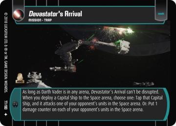 Star Wars Trading Card Game RO077_Devastator_s_Arrival