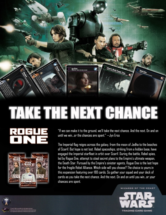 SWTCG RO(Rogue One) Poster