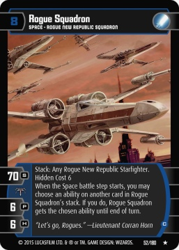 Star Wars Trading Card Game RS052_Rogue_Squadron_C