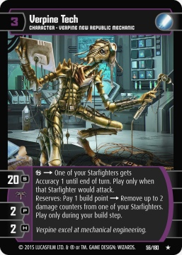 Star Wars Trading Card Game RS056_Verpine_Tech