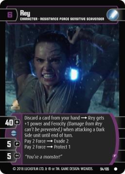 Star Wars Trading Card Game BOSB094_Rey_F