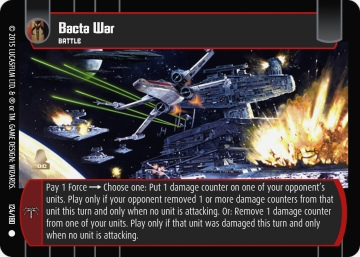 Star Wars Trading Card Game RS124_Bacta_War