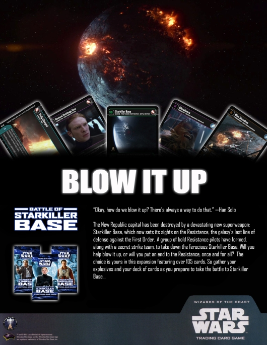 SWTCG BOSB (Battle of Starkiller Base) Poster