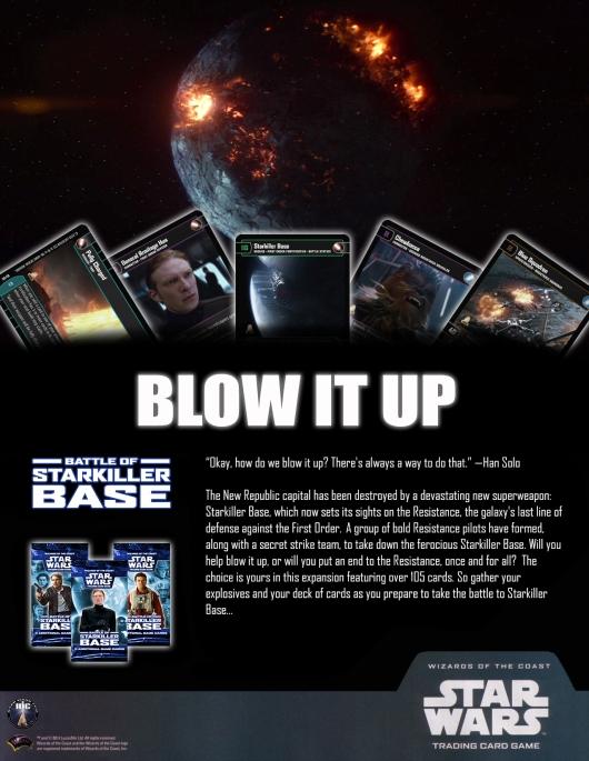 SWTCG BOSB (Battle of Starkiller Base) Poster