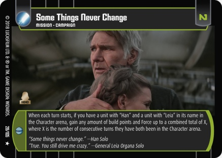 Star Wars Trading Card Game BOSB028_Some_Things_Never_Change