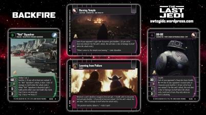Star Wars Trading Card Game TLJ Wallpaper 1 - Backfire