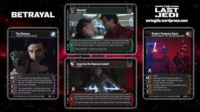Star Wars Trading Card Game TLJ Wallpaper 2 - Betrayal