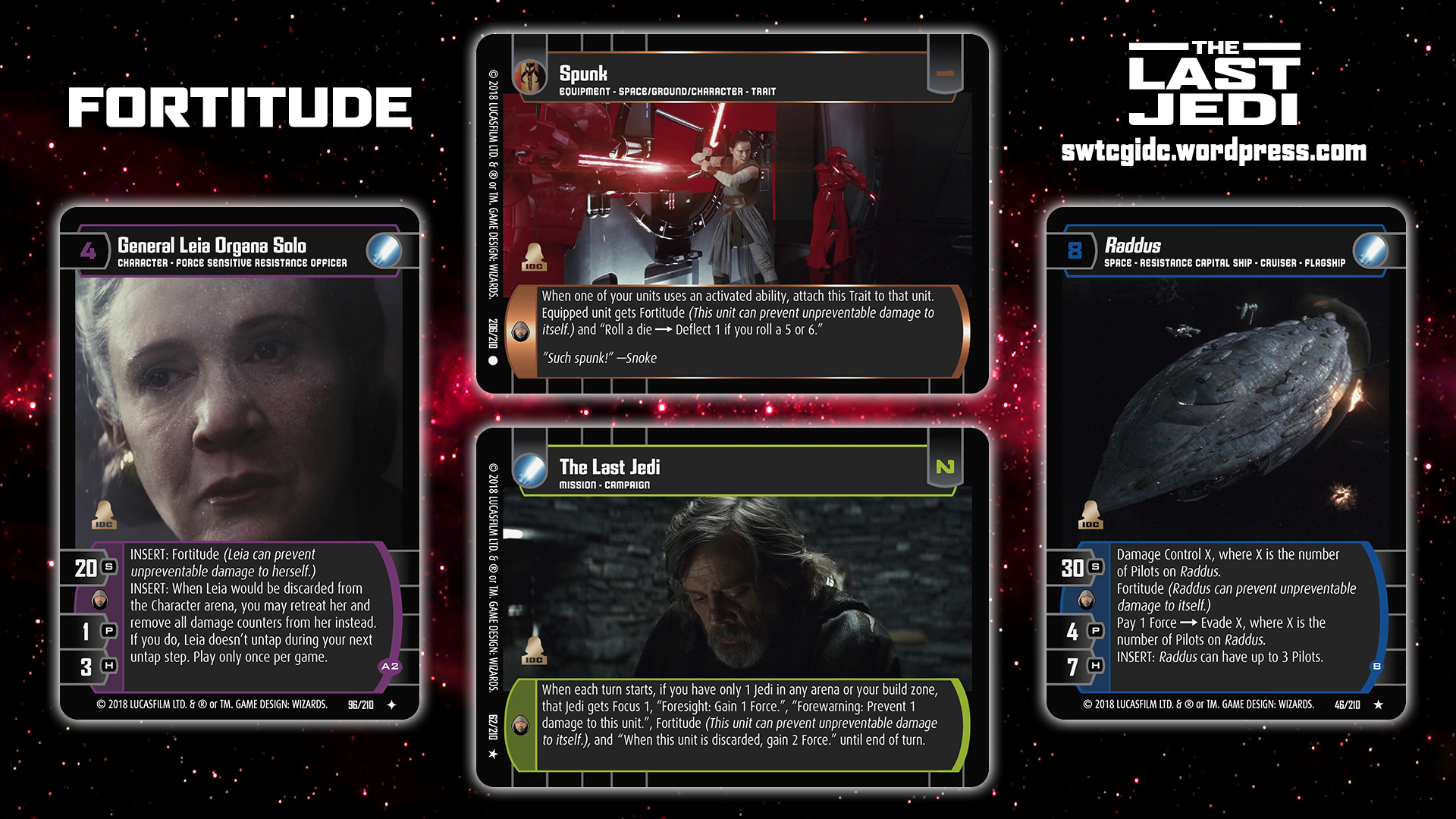 Star Wars Trading Card Game Tlj Wallpaper 4 Fortitude Star Wars Trading Card Game Independent Development Committee