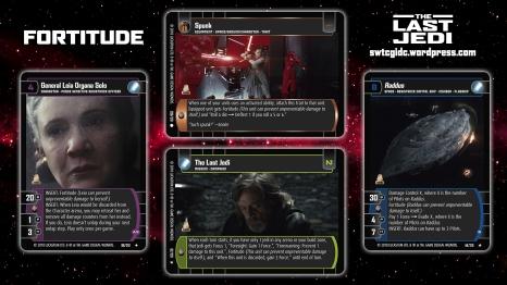 Star Wars Trading Card Game TLJ Wallpaper 4 - Fortitude