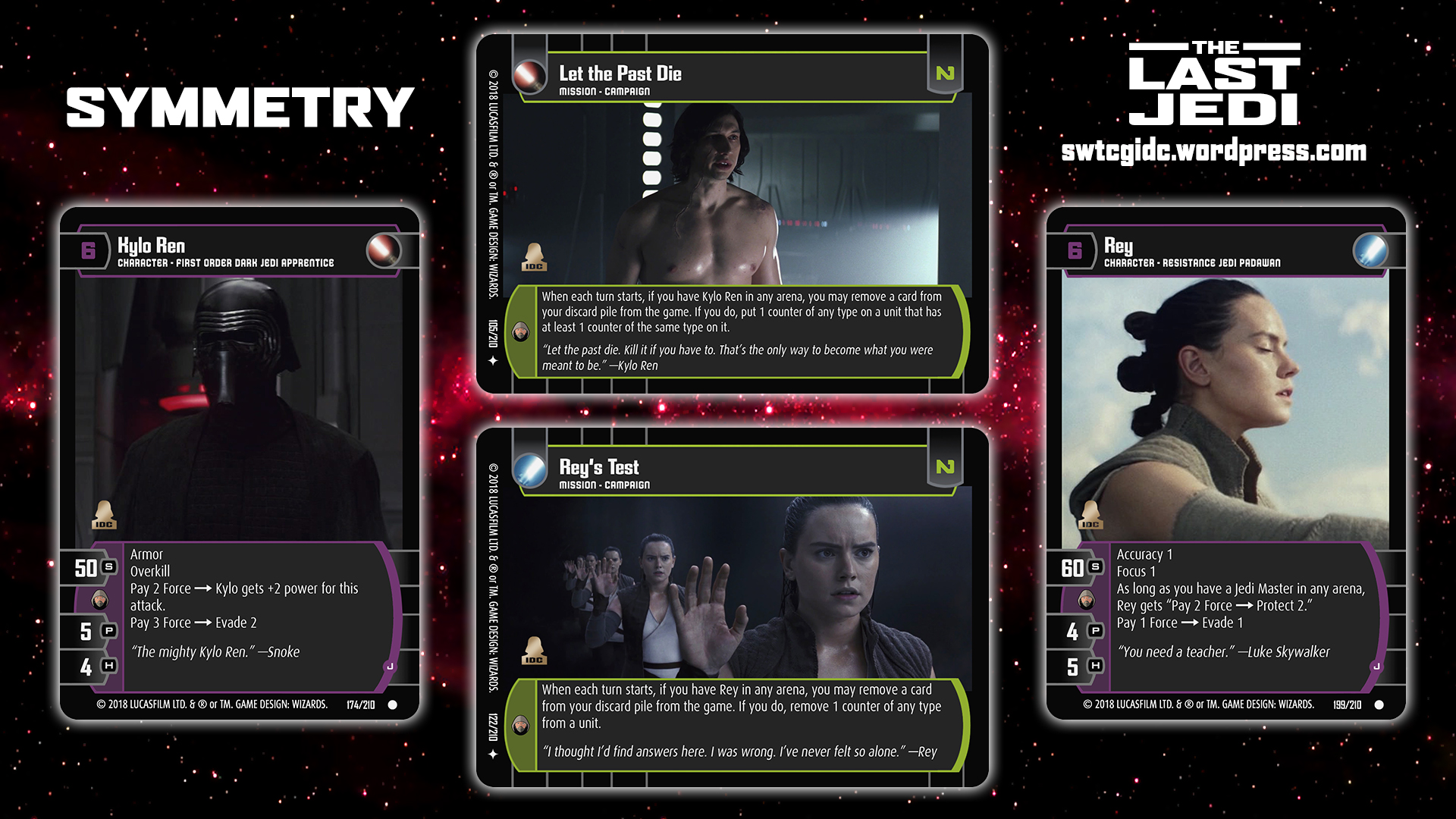 Star Wars Trading Card Game Tlj Wallpaper 6 Symmetry Star Wars Trading Card Game Independent Development Committee